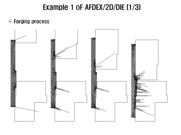 Example 1 Of Afdex 2d Die 1 3 Gt Conventional Forging